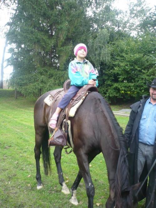 Ukončení prázdnin na koni