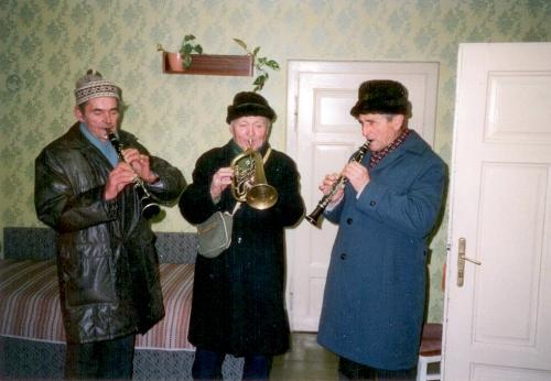Pastýři - Břoušek, Pokluda, Novotný